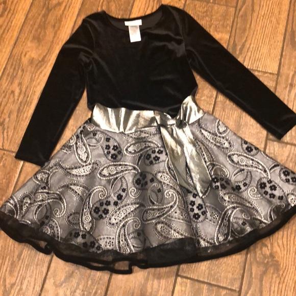 Girls Bonnie Jean holiday dress NWOT 10